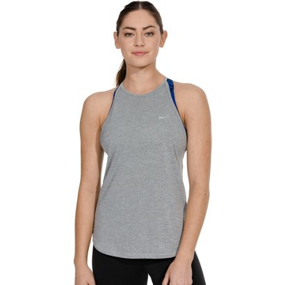 3d7140b5e3620 Nike Women s Dri-FIT Elastika Stripe Training Tank Top