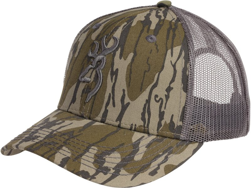 Browning Boys' Blood Trail Mesh Cap - Basic Hunting Headwear at Academy Sports thumbnail