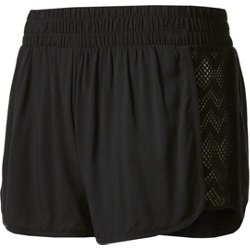 Juniors' Crochet Swim Shorts