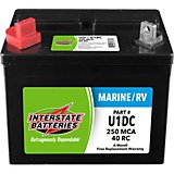 Interstate Batteries Group U1/250 Marine Cranking Amp Deep Cycle Battery