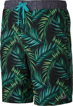 Men's 4-Way Stretch Printed Swimming Boardshorts