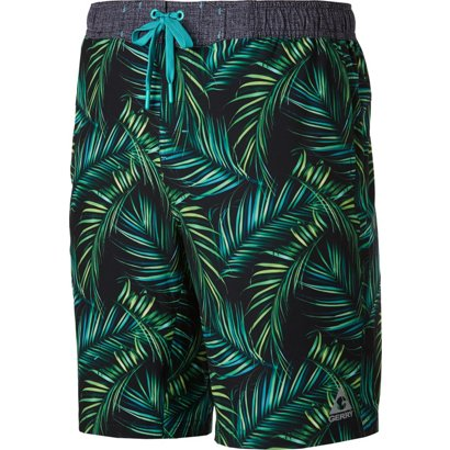 5bc3eaa2df Gerry Men's 4-Way Stretch Printed Swimming Boardshorts   Academy