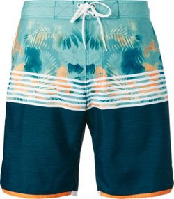 Men's Island Love Scalloped Boardshorts