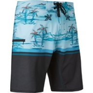 O'Rageous Men's Blue Hawaii Breakline Boardshorts