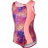 c7f102e8ea4d Girls' Future Star Printed Leotard with Strappy Back