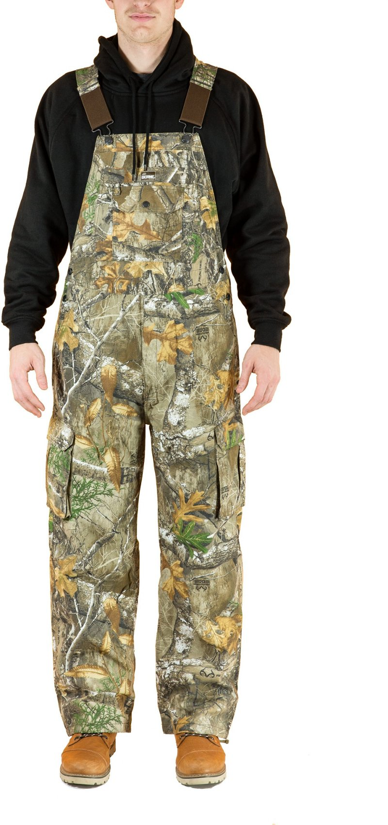 Berne Men's Bantam Bib Overalls - Camo Clothing, Adult Insulated Camo at Academy Sports thumbnail