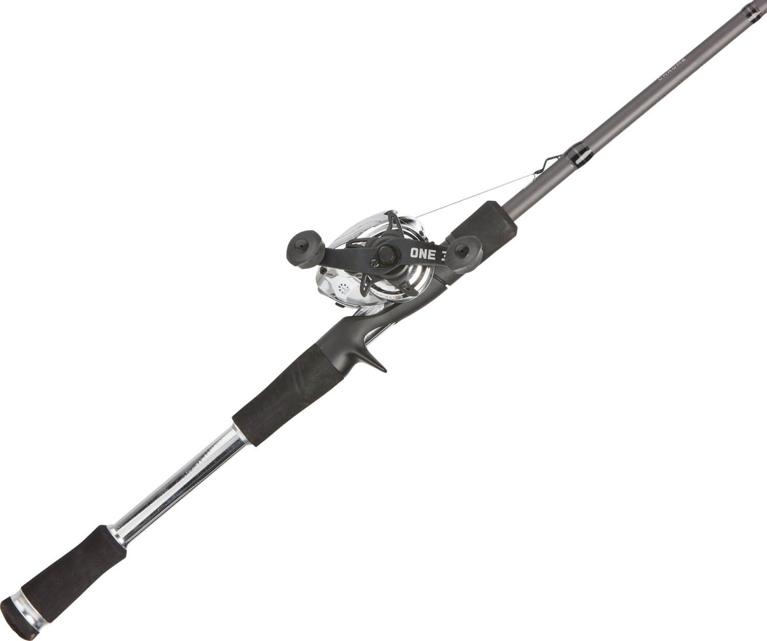 13 Fishing Fate Chrome Origin 7 ft 1 in MH Freshwater Casting Rod and Reel  Combo