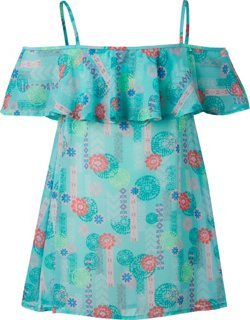 O'Rageous Juniors' Floral Charm Cover-Up