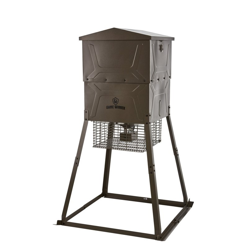 Game Winner 600 lbs Cube Deer Feeder Brown – Feeder Parts And Accessories at Academy Sports
