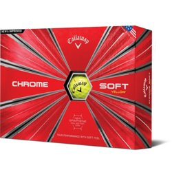 Chrome Soft '18 Golf Balls 12-Pack