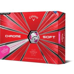 Chrome Soft TruVis '18 Golf Balls 12-Pack