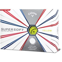 Supersoft '19 Yellow Golf Balls 12-Pack