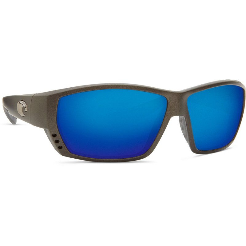 d789845e8dd52 Costa Del Mar Tuna Alley Sunglasses Gray Light Blue - Case Sunglasses at Academy  Sports