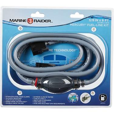 Marine Raider 3/8 in x 6 ft Mercury Fuel Line