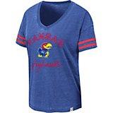 807dc09c Women's University of Kansas Savona V-neck T-shirt