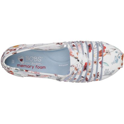 89ab1480f689 SKECHERS Women s BOBS Plush Daisy Darling Slip-On Shoes