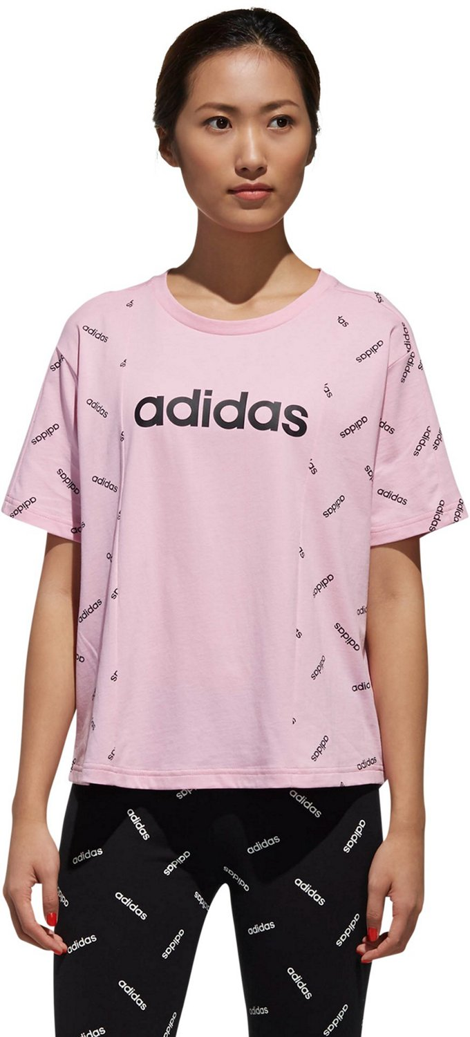 45df7e10 Display product reviews for adidas Women's All-Over Print Graphic T-shirt