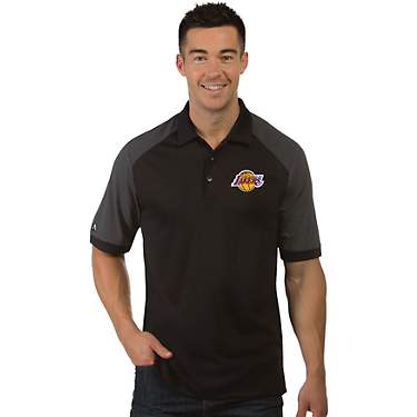 Antigua Men's Los Angeles Lakers Engage Polo Shirt