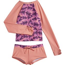 Girls' Leaf Breeze 2-Piece Rash Guard