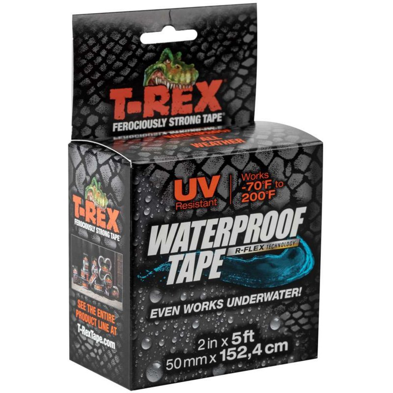 T-REX 5 ft Waterproof Tape Black – Camping Accessories at Academy Sports
