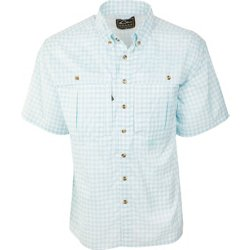 Men's FeatherLite Plaid Wingshooter's Short Sleeve Shirt