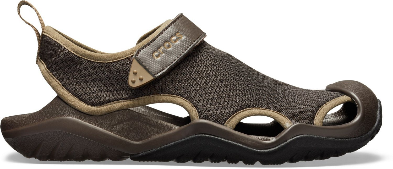 766cd7216f38 Crocs Men s Swiftwater Mesh Deck Sandals