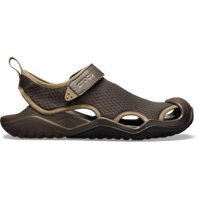 4a158f4fca7c ... Crocs Men s Swiftwater Mesh Deck Sandals. Men s Sandals   Flip Flops.  Hover Click to enlarge