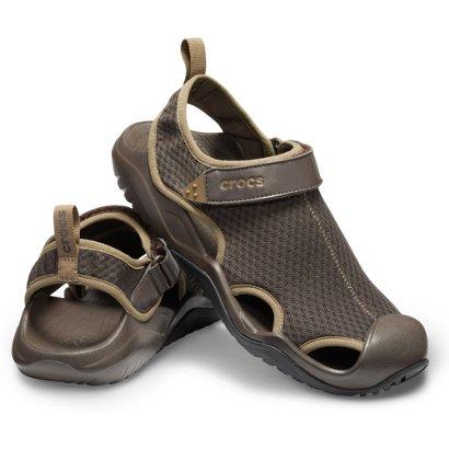 d2b6698e6248 Crocs Men s Swiftwater Mesh Deck Sandals