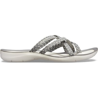 0a1bd7633 ... Crocs Women s Swiftwater Braided Web Flip-Flops. Women s Sandals   Flip  Flops. Hover Click to enlarge