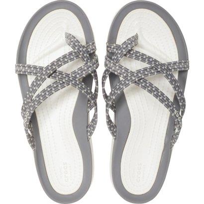 f80f20f96 Crocs Women s Swiftwater Braided Web Flip-Flops