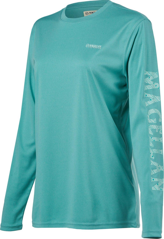 978014a96b Display product reviews for Magellan Outdoors Women s Caddo Lake Logo Crew Long  Sleeve T-shirt