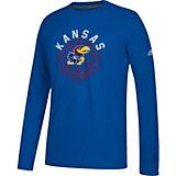 timeless design 6a0df 9f4cc adidas Men s University of Kansas Basketball Adoration Ultimate Long Sleeve  T-shirt