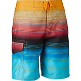 e357394e19915 Boys' Malibu Sunset Stripe True Boardshorts