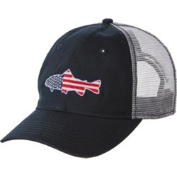 Academy Sports + Outdoors Men's Americana Fish Patch Cap