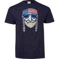 Americana Men's Patriotic Band Graphic T-shirt