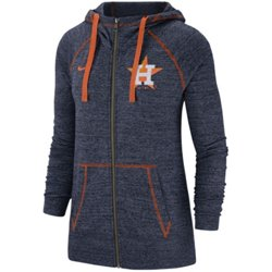 Women's Houston Astros Gym Vintage Full Zip Hoodie