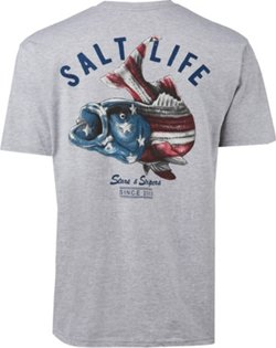 Men's Striper Flag Pocket T-shirt