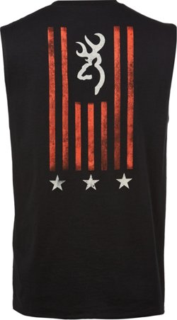 Men's Classic Stars and Stripes Muscle Tank Top