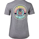 Love & Pineapples Women's Sunset Logo T-shirt