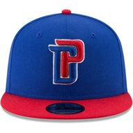 New Era Men's Detroit Pistons 2Tone 9Fifty Snapback Hat