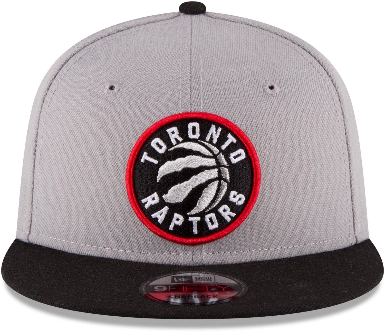 New Era Men s Toronto Raptors 2Tone 9Fifty Snapback Hat  1d0a949682a