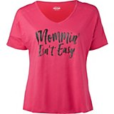 BCG Women's Plus Size Athletic Graphic T-shirt