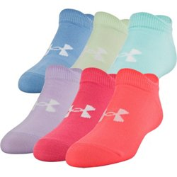 Kids' Essential 2.0 Performance No Show Socks 6 Pack