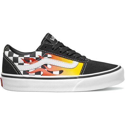 e2c7a227232221 ... Vans Boys  Ward Flame Checkered Shoes. Boys  Lifestyle Shoes.  Hover Click to enlarge
