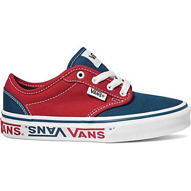 381a191297 Vans Kids' Atwood Sidewall Logo Lifestyle Shoes