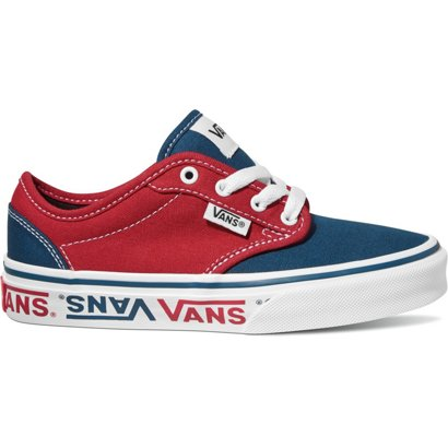 6b95f8d29d99f5 Vans Boys  Atwood Sidewall Logo Lifestyle Shoes
