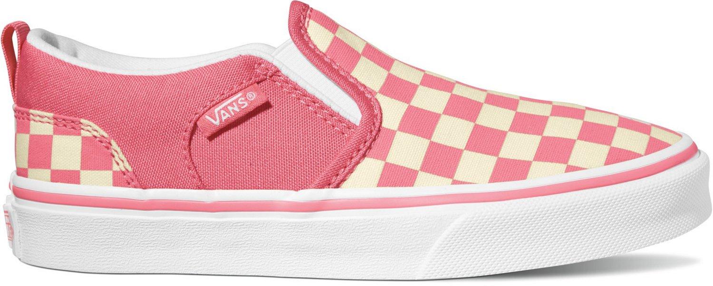 95694bd0e1 Vans Girls  Asher Checkerboard Shoes