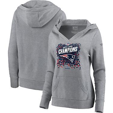 best website ca289 8d87f New England Patriots Women's Super Bowl LIII Champions Locker Room Hoodie
