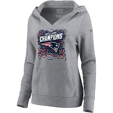 25cd006f New England Patriots Women's Super Bowl LIII Champions Locker Room Hoodie