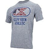 Cliff Keen Men's MXS Flag Logo Performance Workout T-shirt